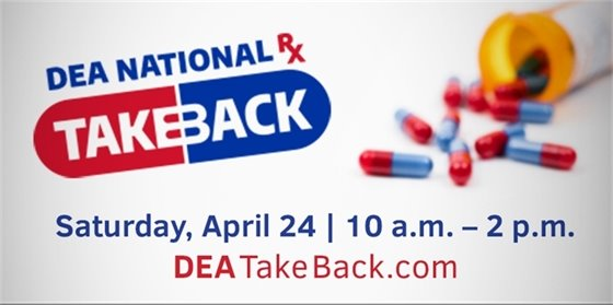 TCPD Drug Takeback Day