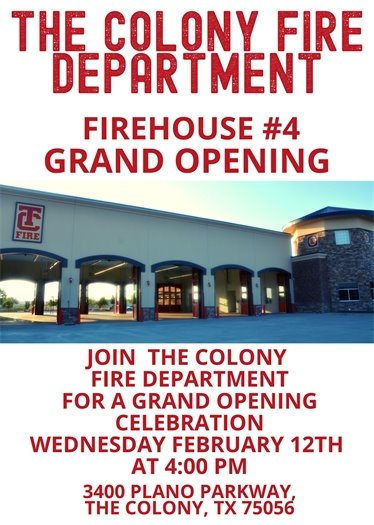 TCFD grand opening flyer