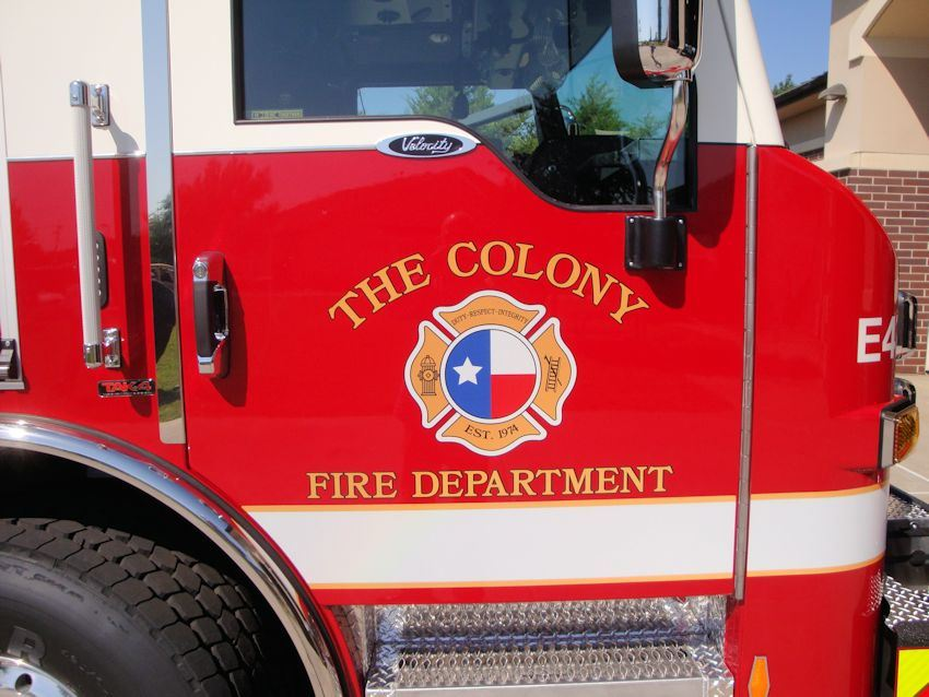 The Colony Fire Department logo