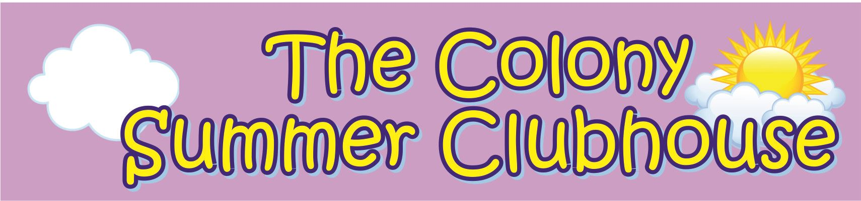 The Colony Summer Clubhouse Logo