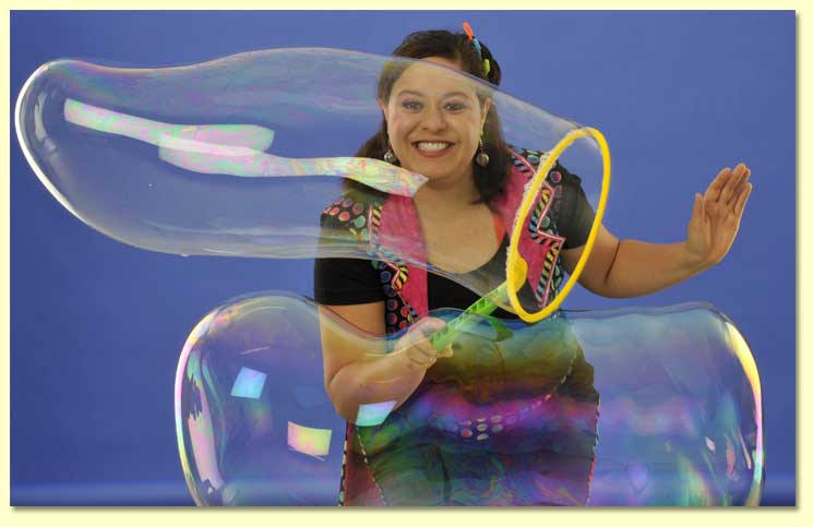 1. Bernadette the Bubble Lady