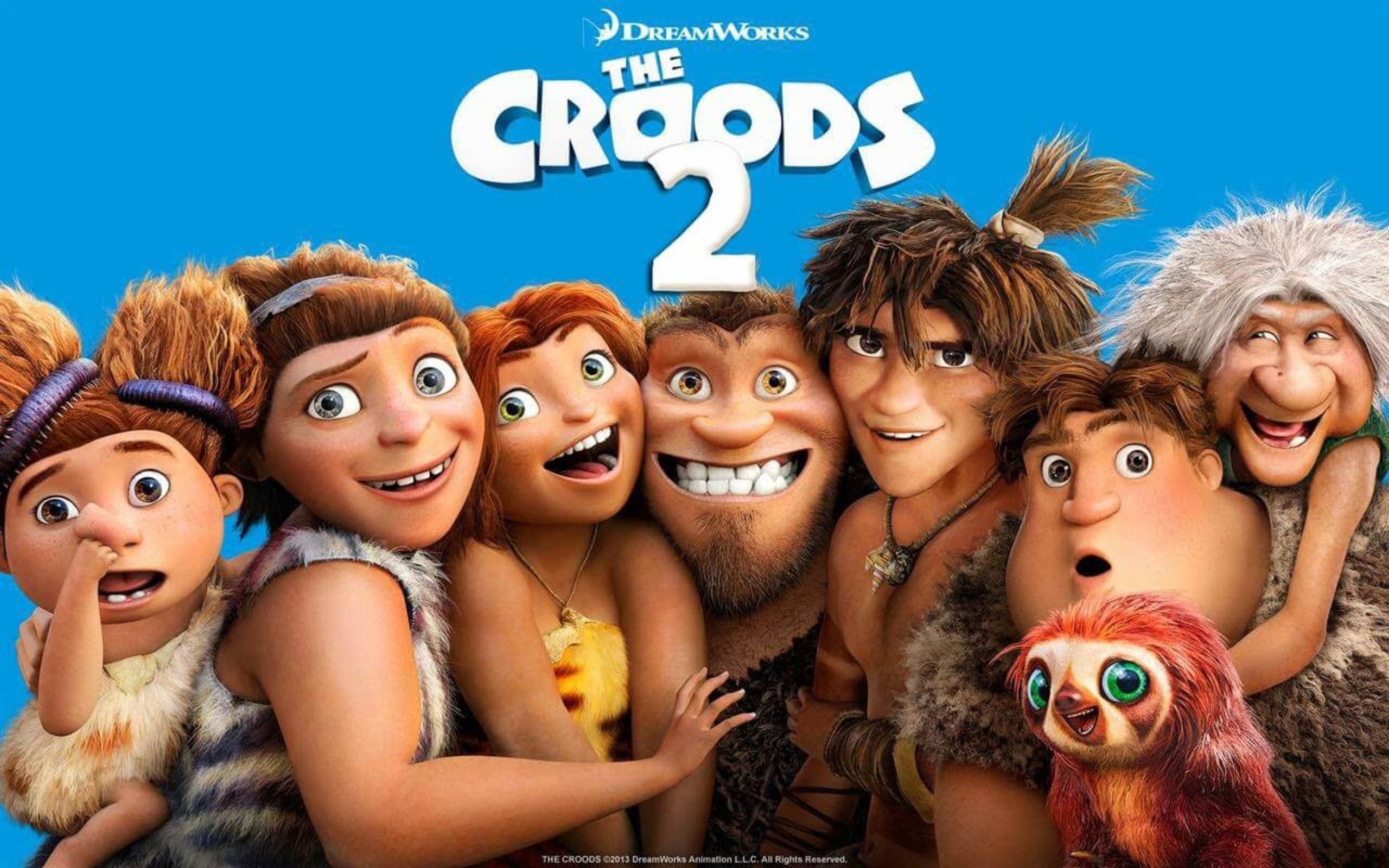 Croods movie cover image